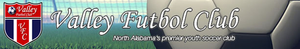 Alabama Youth Soccer Association banner